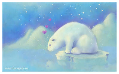 My November Polar Bear by TinyPilot
