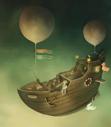 Bye bye Mr. Moon part 8 by TinyPilot