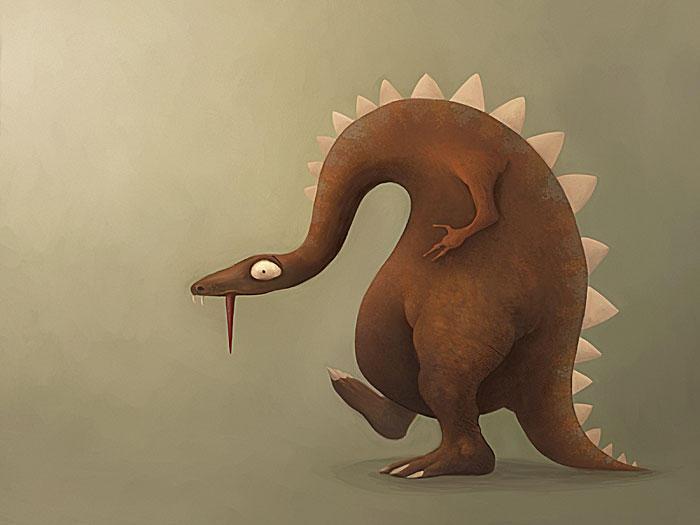 Snake Dino by TinyPilot