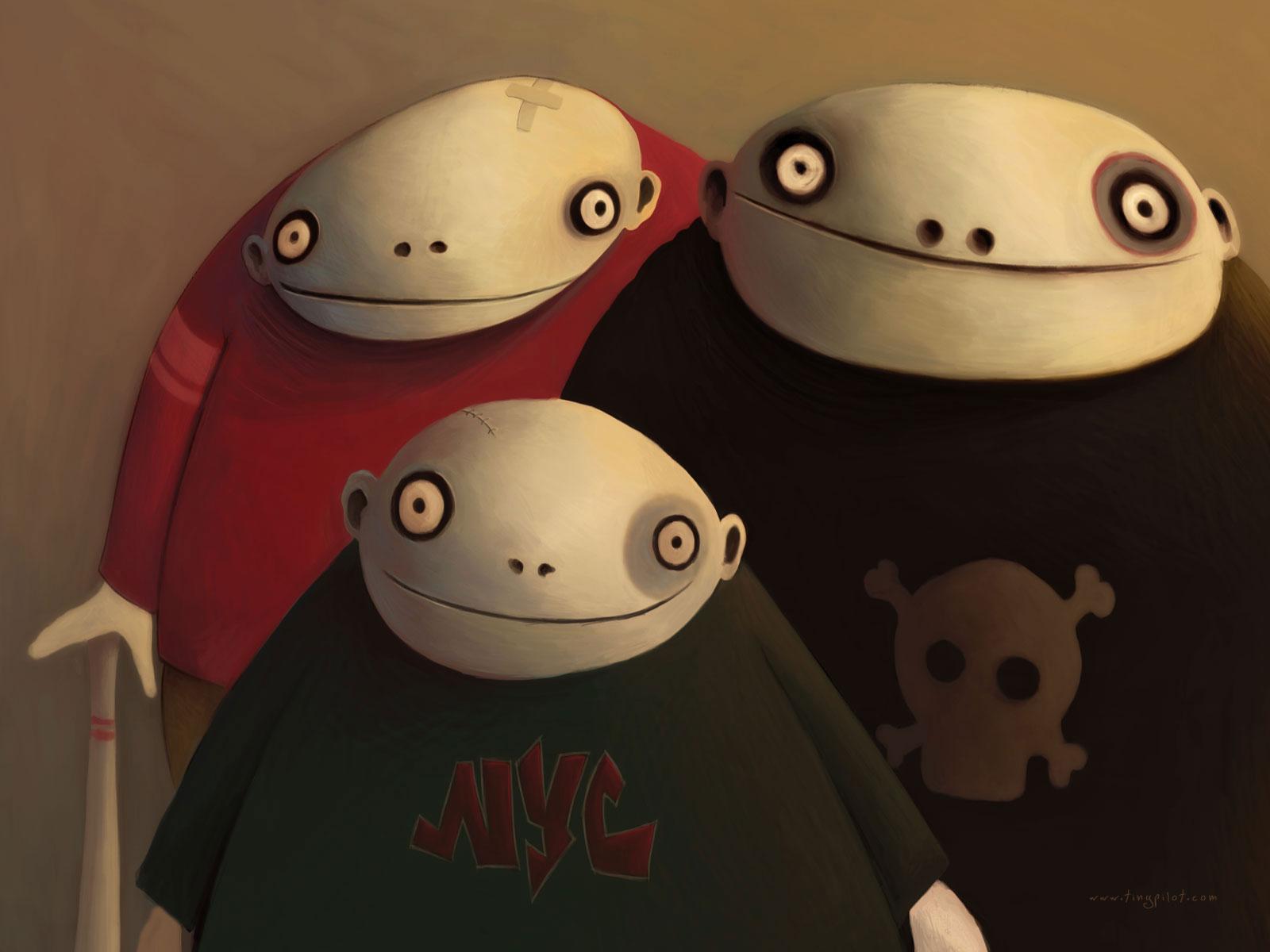 The Gang - Wallpaper