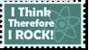 I Think - Stamp