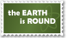 Earth Is Round--AtheistsClub by AtheistsClub