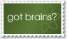 Got Brains?--AtheistsClub by AtheistsClub