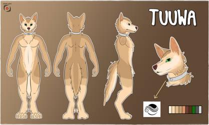Tuuwa reference sheet by Ryuigi