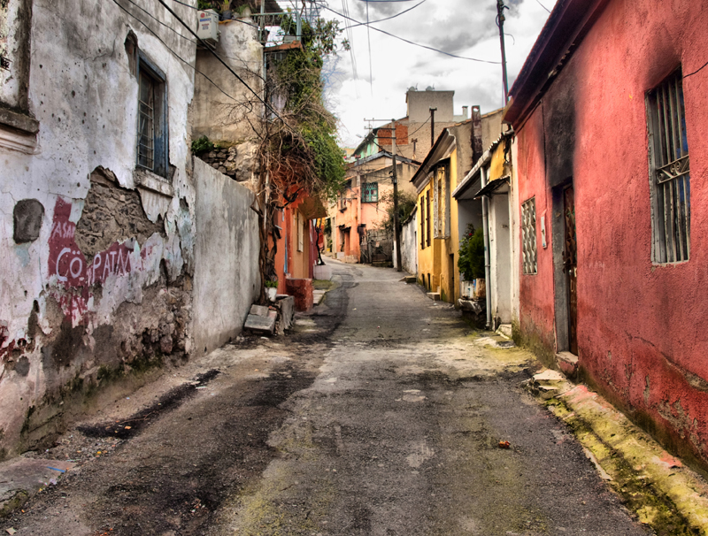 Old Street in Izmir 2 by chimneysweeper