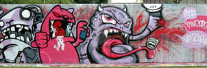 ANGRY PINK MONSTERS