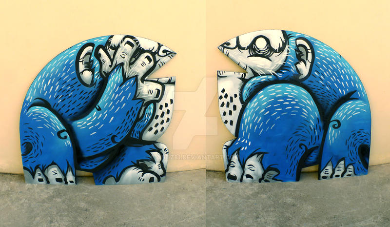 ape-ing double by antz81