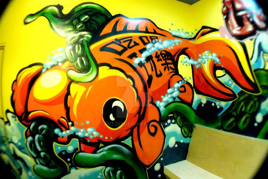GO'FISH by antz81