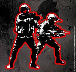 WIP soldiers