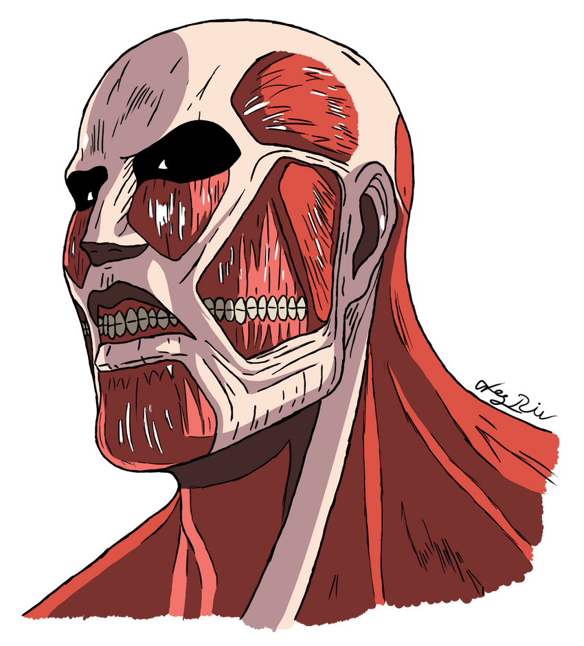 Colossal Titan by litingphires on DeviantArt