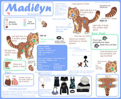 Reference: Madilyn by Messybun