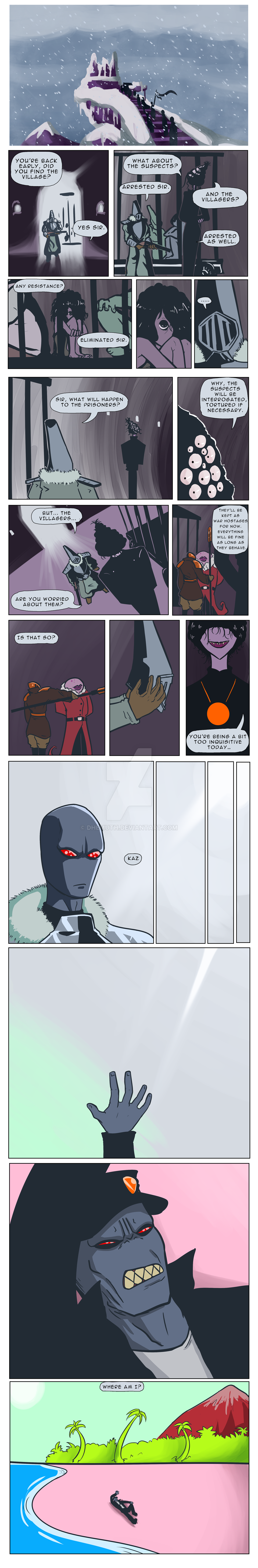 Tower Tournament OCT - Round 1 Page 1 by Dhemuth
