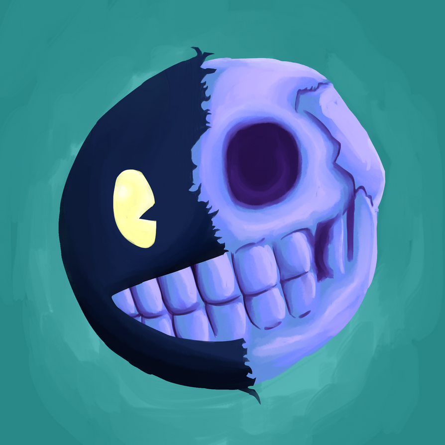 Mascot Head Skull by Dhemuth