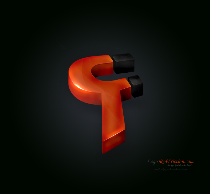 RedFricion Logo by Indallion