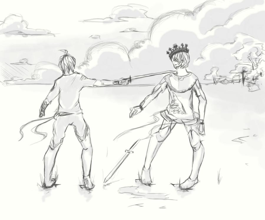 Macduff Macbeth Foil Macbeth vs Macduff by