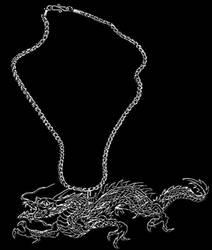 Silver Dragon by jintana