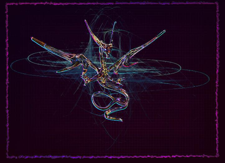 Trippy Dragon by jintana