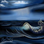 Seascape - Bob Ross reproduction S12E05
