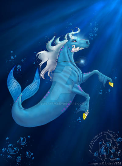 In the depths of the sea by LuisaVFM