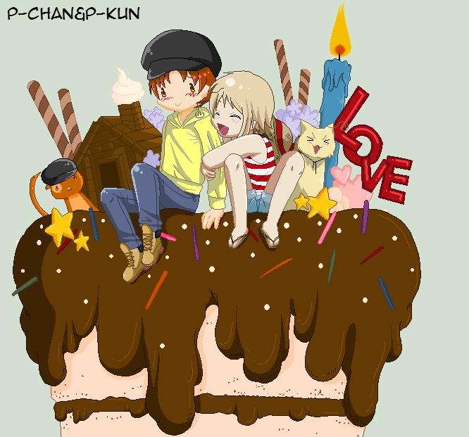 Happy Birthday Follonica by P-ChanAndP-Kun