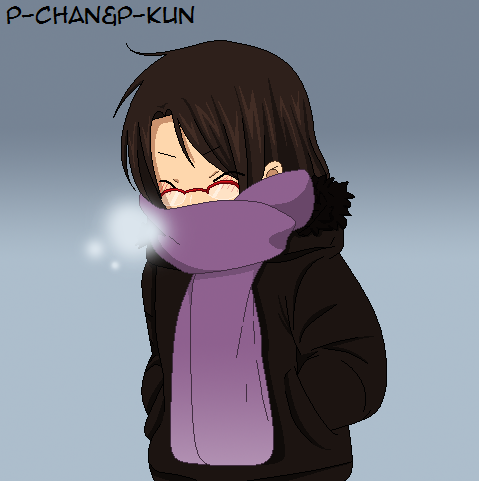 So cold... by P-ChanAndP-Kun