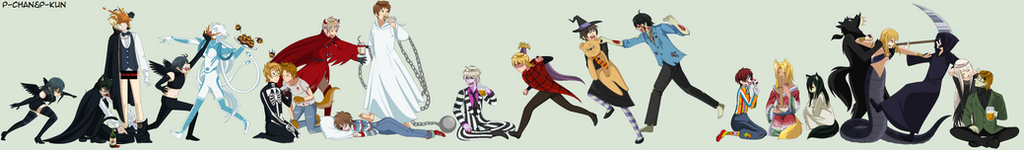Our nephews wish to you HAPPY HALLOWEEN by P-ChanAndP-Kun
