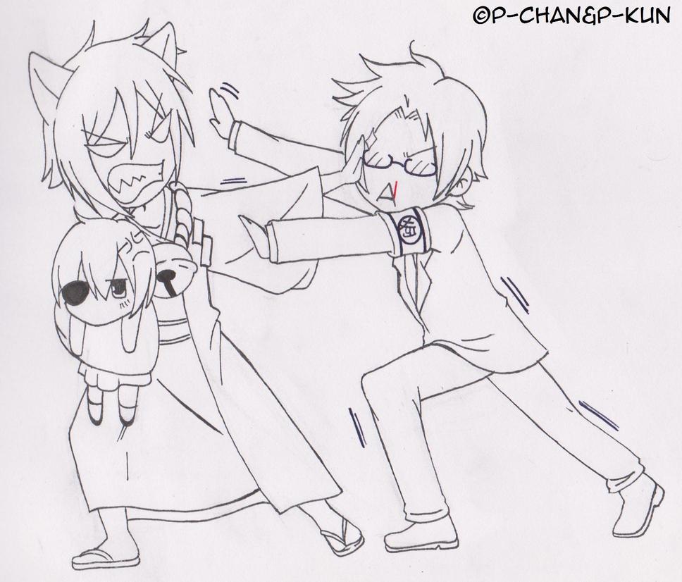 Sketch - Gugure!Sebastian-san by P-ChanAndP-Kun