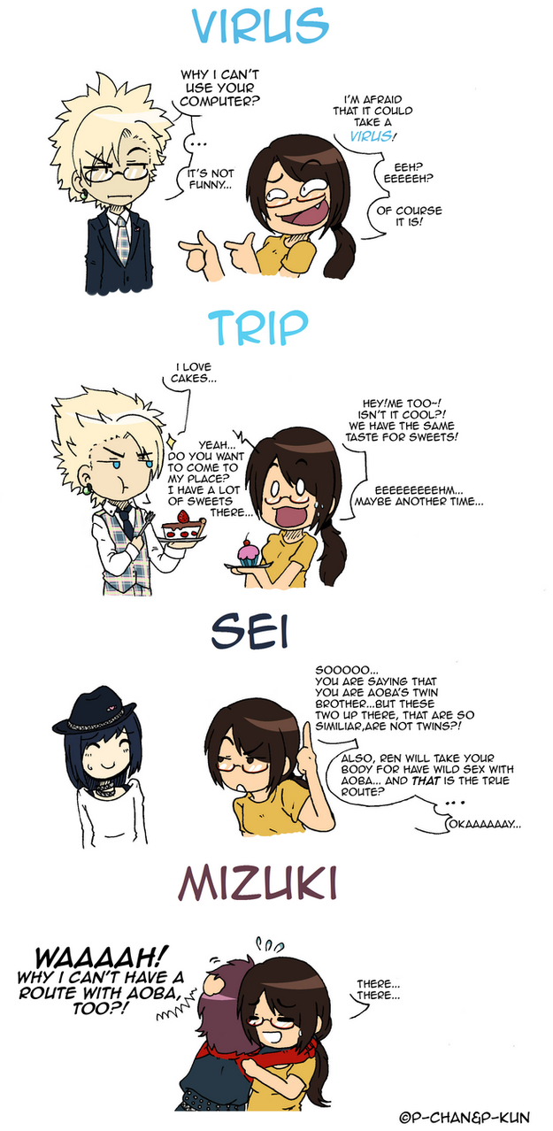 What if DMMD characters were real and meet me - 2 by P-ChanAndP-Kun
