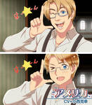 Hetalia WS - My style VS Original - AMERICA by P-ChanAndP-Kun