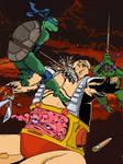 Turtles vs Krang pt. II