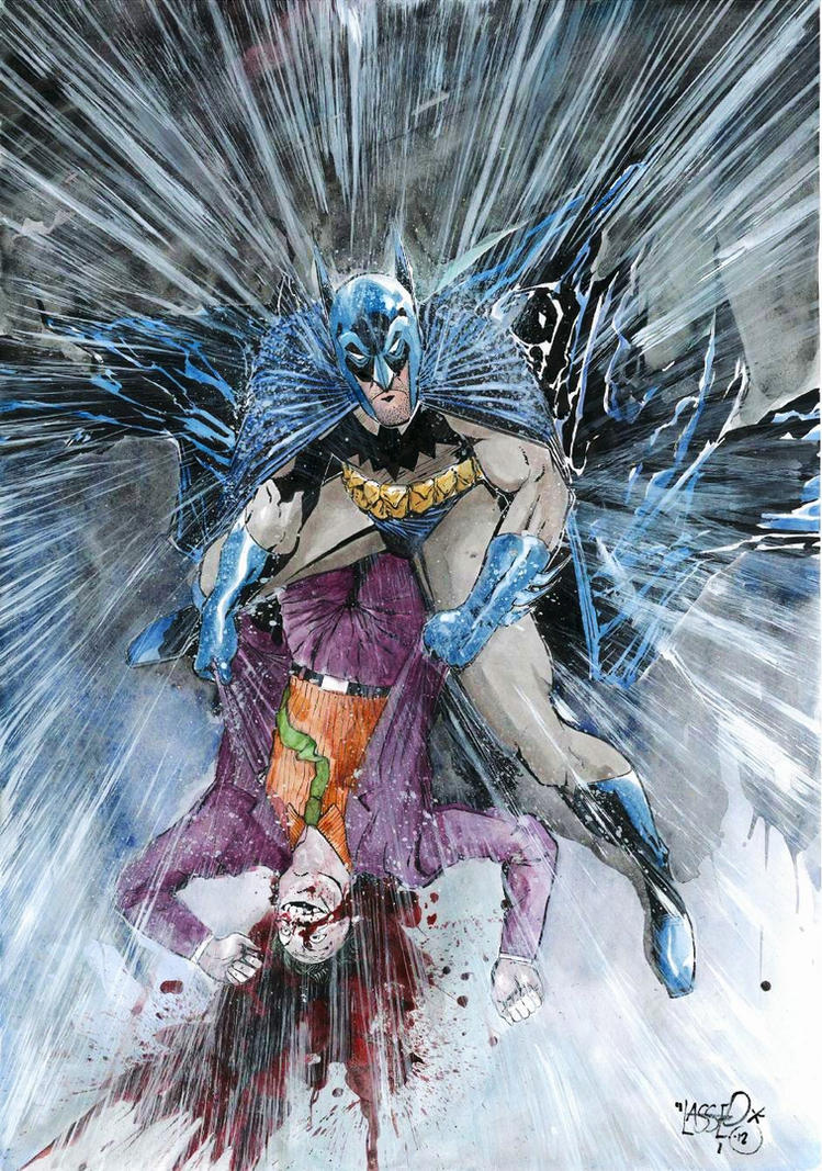 Batman vs Joker by Soposoposopo