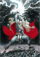 Almighty Thor by Soposoposopo