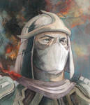 Portrait of a Warrior by Soposoposopo