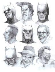 Batmen and Crusty Jugglers by Soposoposopo