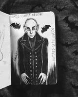 day 26: Count Orlok. by Frankienstein