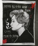 blood and pain by Frankienstein