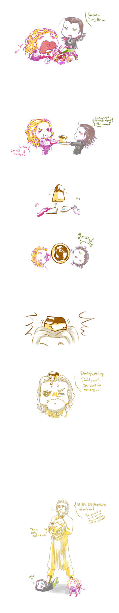 Thor, you sure love food by MicoSol