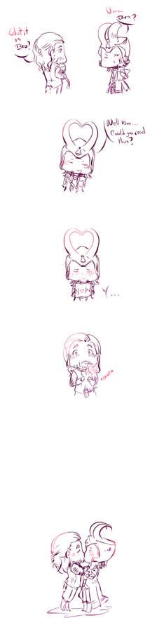 Love luv / Thor and Loki