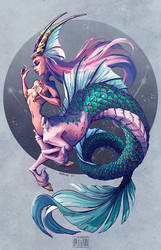 Capricorn mermaid