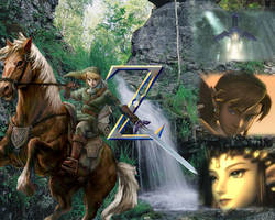 The loz of Zelda by Frezzypoe
