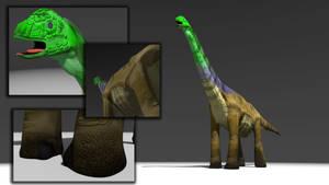 Giraffatitan Speed Model