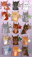 Leaders of Thunderclan