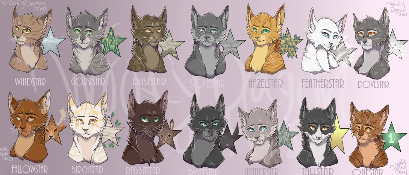 Warrior Cats Hazelstar