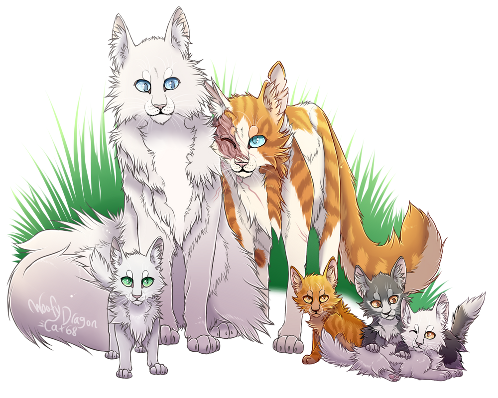 Warrior Cats Cloudtail And Brightheart