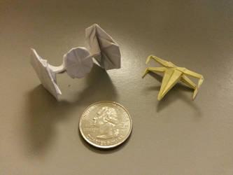 Origami TIE Fighter