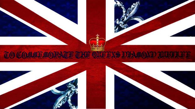 |Speedart| 'Queens' Diamond Jubilee Wallpaper by ErazhaaDzn