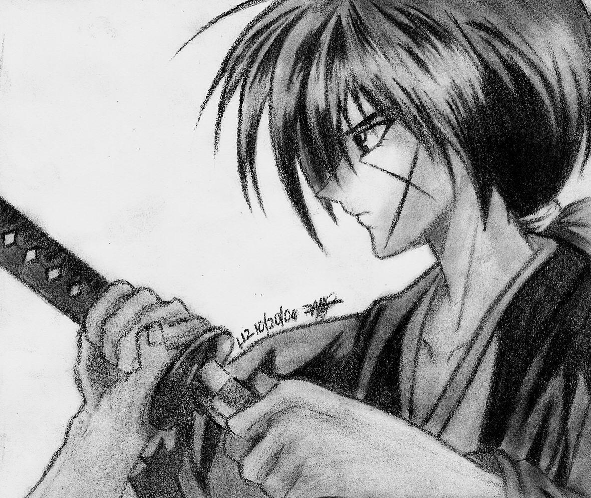 Kenshin Himura By Angstfool11