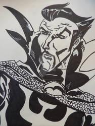Inktober Oct 30 Doctor Strange