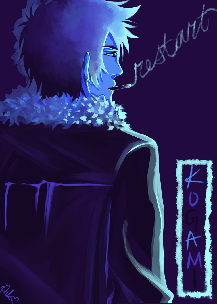 Kogami: Blue Palette by aikolux