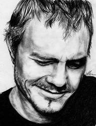 Heath Ledger by HippieInHell
